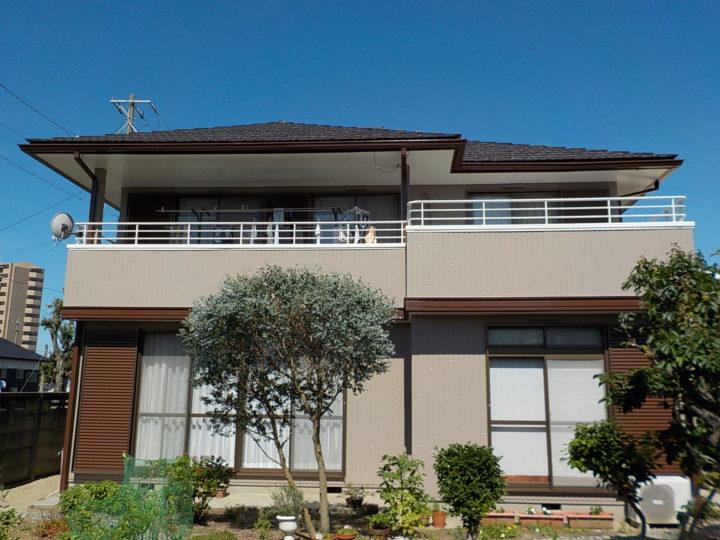 豊橋市 A様邸 外壁・屋根塗装工事
