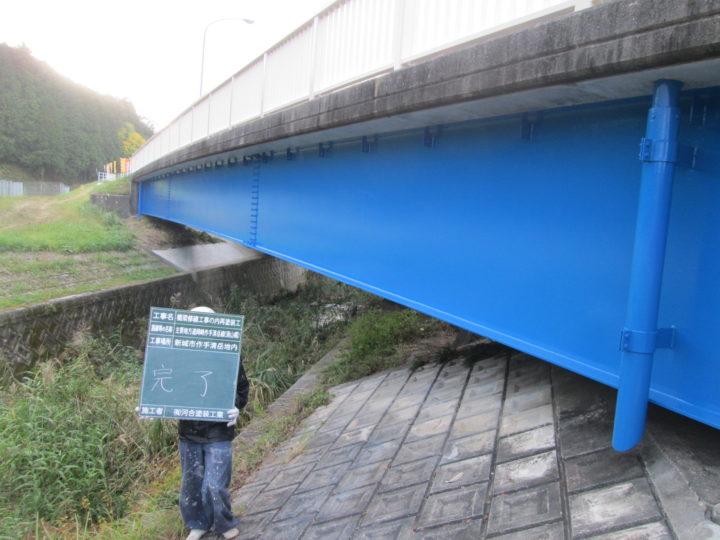 豊橋市 T橋 塗装工事