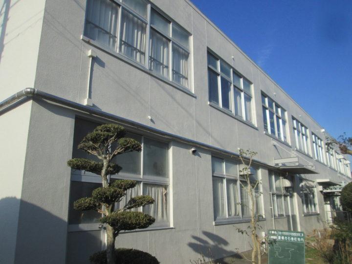 豊橋市 S小学校 外壁塗装工事