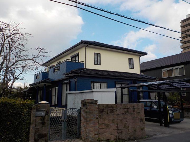 豊橋市 Ⅰ様邸外壁塗装・屋根塗装工事