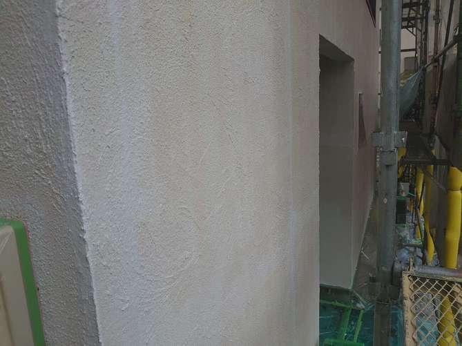 外壁下塗り完了(ジョリパット)