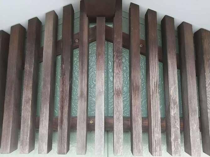 外壁塗装(飾り格子部分)・施工後