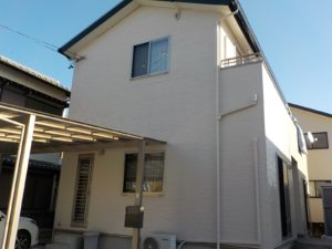 豊橋市H様邸 外壁塗装・屋根塗装工事