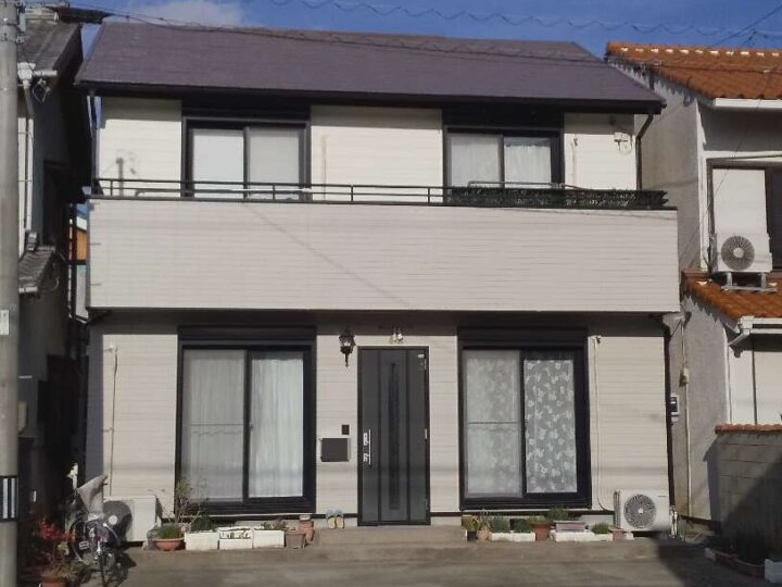 豊橋市Ⅰ様邸 外壁塗装・屋根塗装工事