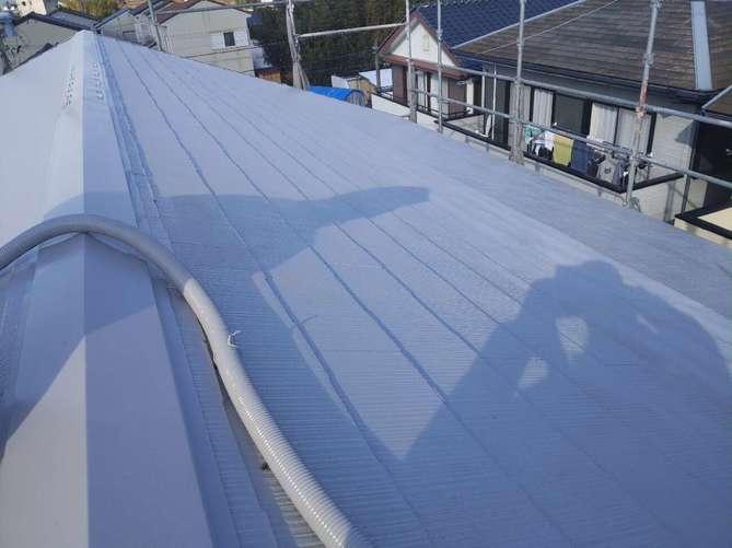 屋根塗装作業