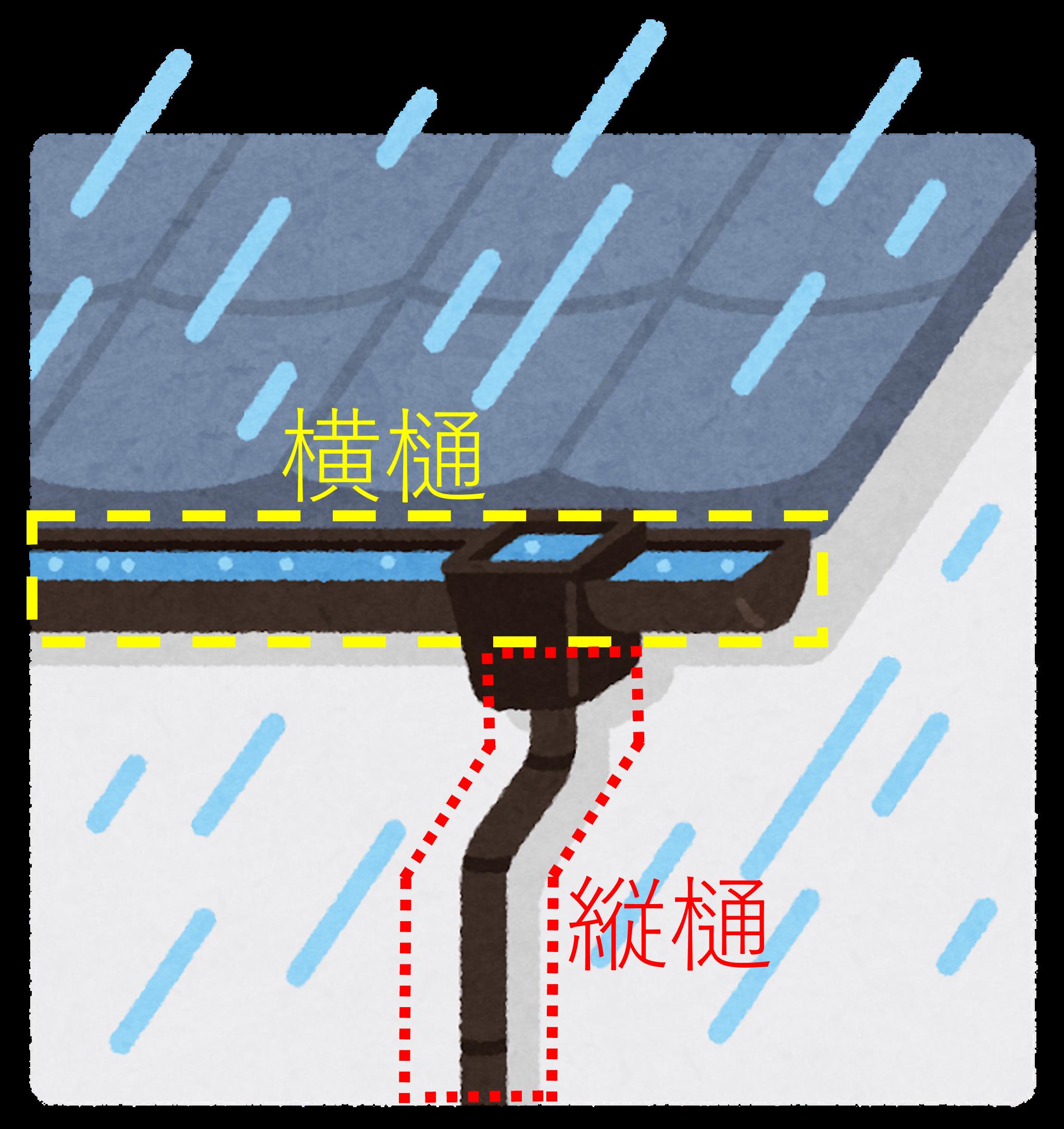 豊川市 外壁塗装 樋