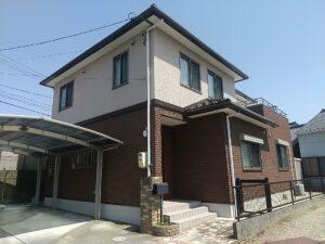 豊川市Y様邸 外壁塗装工事