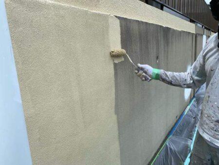 塗装 塀 豊橋
