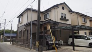 豊橋市M様邸 外壁塗装工事