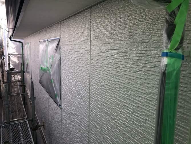 外壁中塗り完了