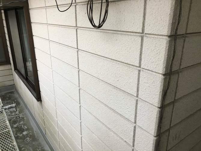 外壁水洗い完了