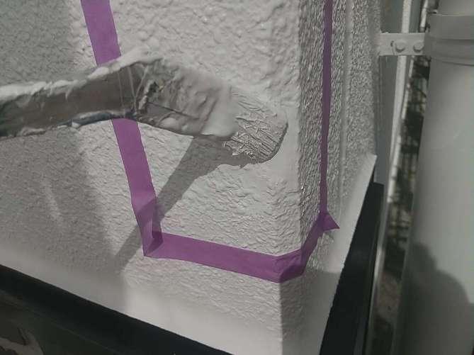 外壁補修 塗装作業