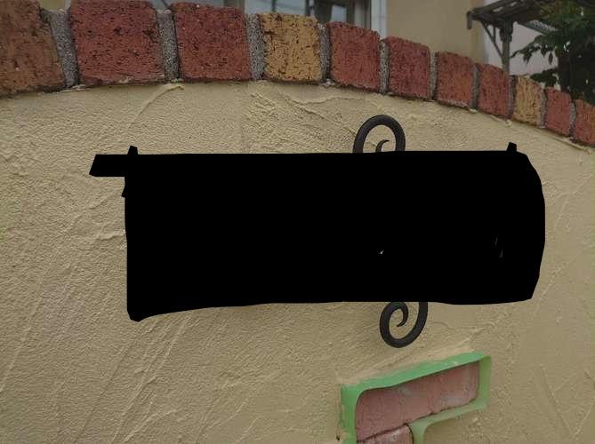 塀塗装 完了